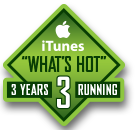 What's Hot Badge iTunes