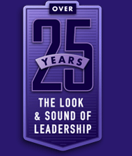 25 years badge of The Look & Sound of Leadership