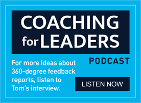 Coaching for Leaders podcast graphic