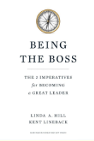 Being The Boss book