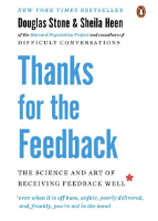 Thanks for the Feedback book