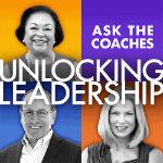 Unlocking Leadership - Ask the coaches logo